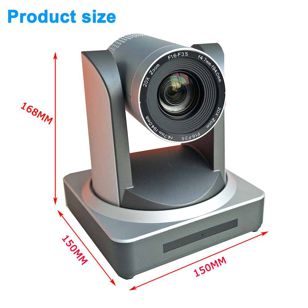 Image 3 - Video Conference Camera System Kit 2MP 1080P HDSDI SDI IP 20X HD Onvif Video Live Media Cam + 8inch TFT LCD Keyboard controller-in Surveillance Cameras from Security & Protection