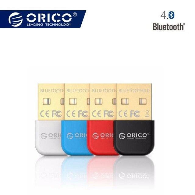 ORICO беспроводной Bluetooth 4,0 адаптер USB Dongle приемник передатчик для ПК оконные рамы Vista Совместимость 2,1/2,0/3,0