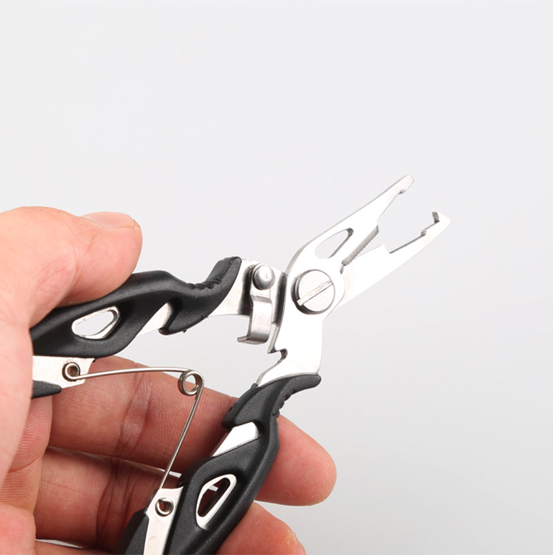 Fishing Plier Scissor Braid Line Steel Wire Cutter Hook Remover Tool Fish Use Scissors Fishing Tackle Accessory B214