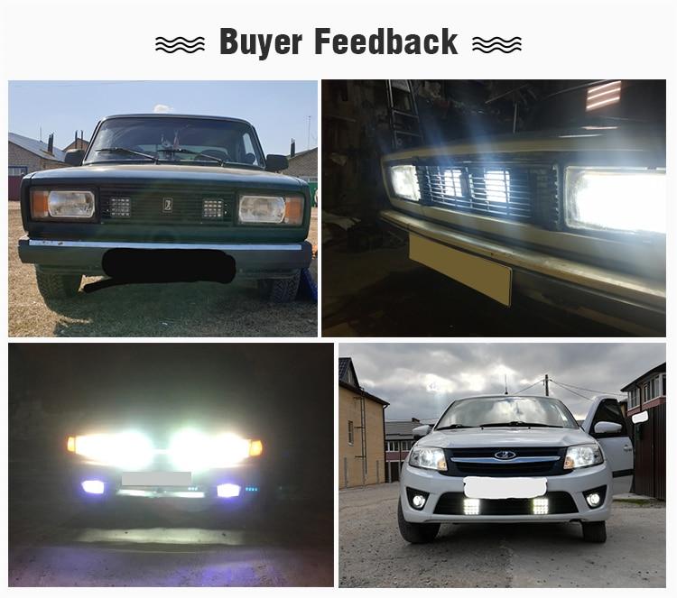 HTB1W2DJVgHqK1RjSZFgq6y7JXXaA OKEEN 4inch 10cm 18W 27W 48W Offroad Car 4WD Truck Tractor Boat Trailer 4x4 SUV ATV 24V 12V Spot LED Light Bar LED Work Light