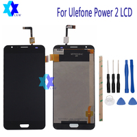 For Ulefone Power 2 LCD Display Touch Screen Panel Digital Replacement Parts Assembly Original 5 5