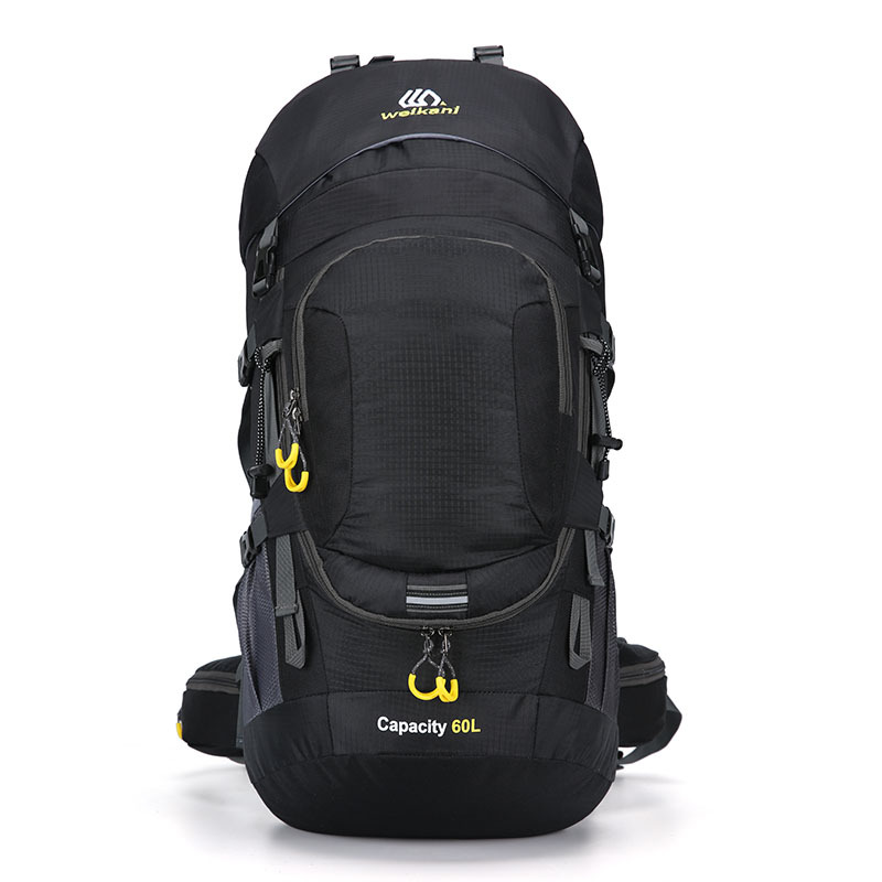 60L Unisex Waterproof Male Backpack Travel Pack Sports Bag Pack Outdoor Camping Mountaineering Hiking Climbing Backpack For Men