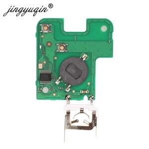 Image 2 - Jingyuqin 2 כפתור מרחוק מפתח PCF7947 שבב 433Mhz חליפת עבור רנו לגונה Espace 2001 2006 חכם כרטיס מרחוק fob רכב סטיילינג