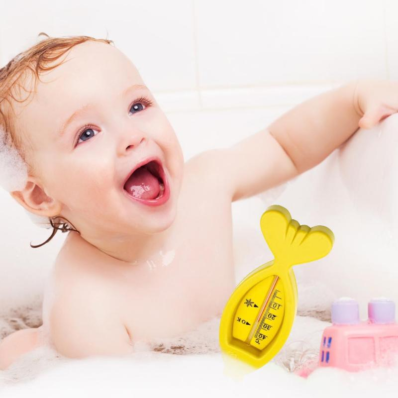 Bath Water Thermometers Plastic Cute Floating Fish Shape New Baby Tub Water Sensor Thermometers Toy for Baby Bath Baby Care New форма для нарезки арбуза