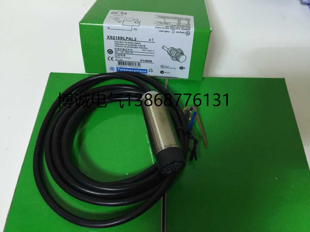Schneider Proximity Switch Sensor XS218BLPAL2 3 Wire PNP NO New High ...