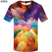 3d Tshirt Art T shirts Men Graffiti Tshirts Casual Colorful Homme Painting Print Abstract Printed Mens Clothing