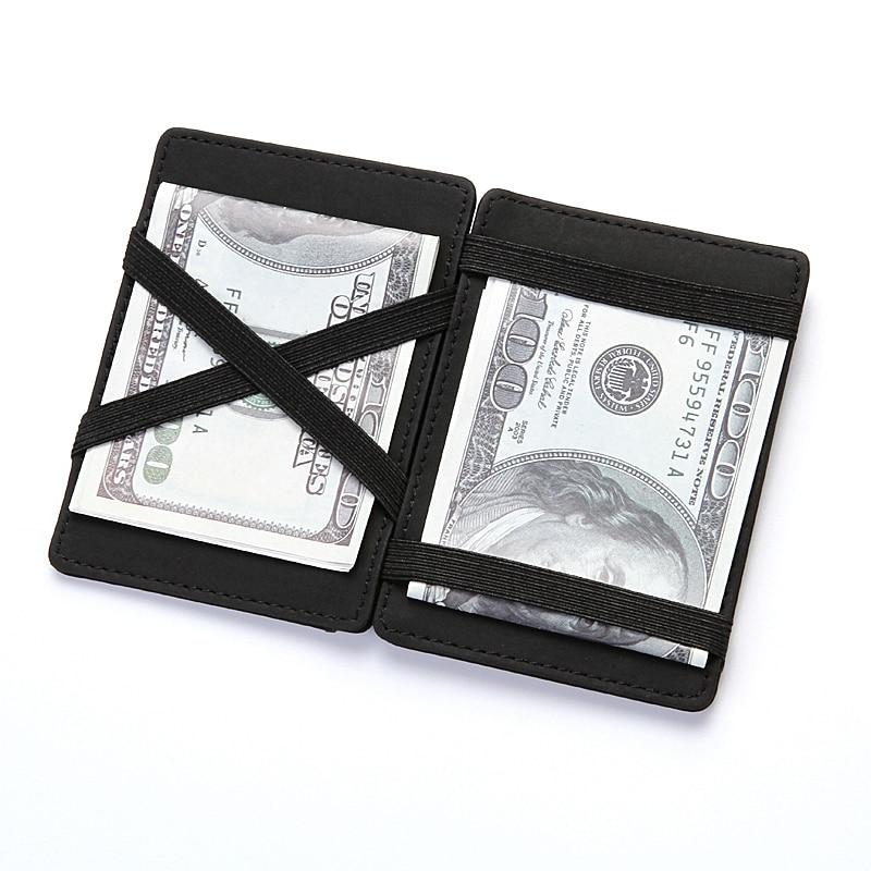 CUIKCA New Style Magic Plånbok Magic Money Clip Zipper Mynt Wallet - Plånböcker - Foto 2