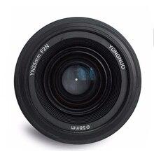 Объектив Yongnuo 35 мм YN35mm F2 широкоугольный объектив с большой апертурой фиксированный объектив с автофокусом для Nikon F крепление canon EF крепление EOS камеры