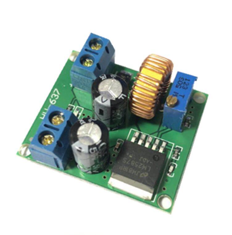 LM2587S DC-DC 3 V-35 V do 4 V-40 V regulowany wzmacniacz wzmacniacz konwerter moc transformatora Regulator Step-Up moduł 3V 5V 12V do 24V