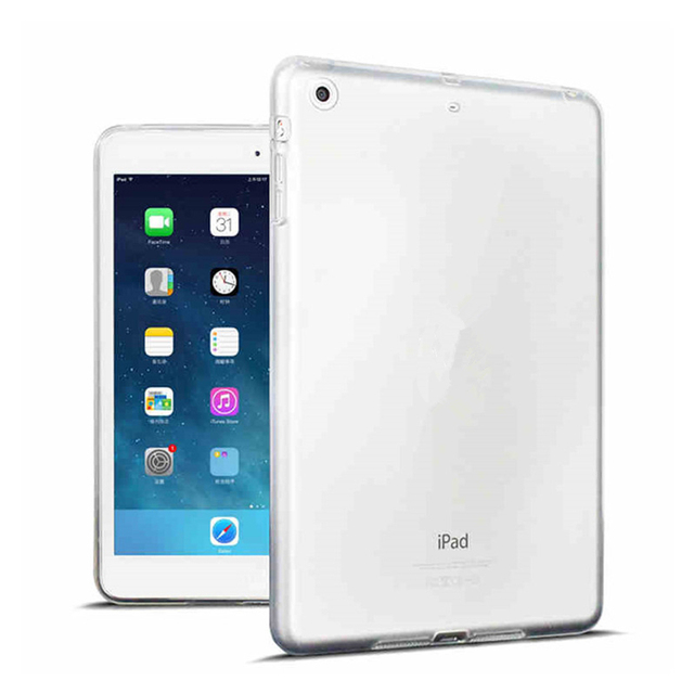 For New iPad 9.7 2017 2018 Case TPU Silicon Transparent Slim Cover for iPad Air 2 Air 1 Pro 10.5 Mini 2 3 4  Coque Capa Funda