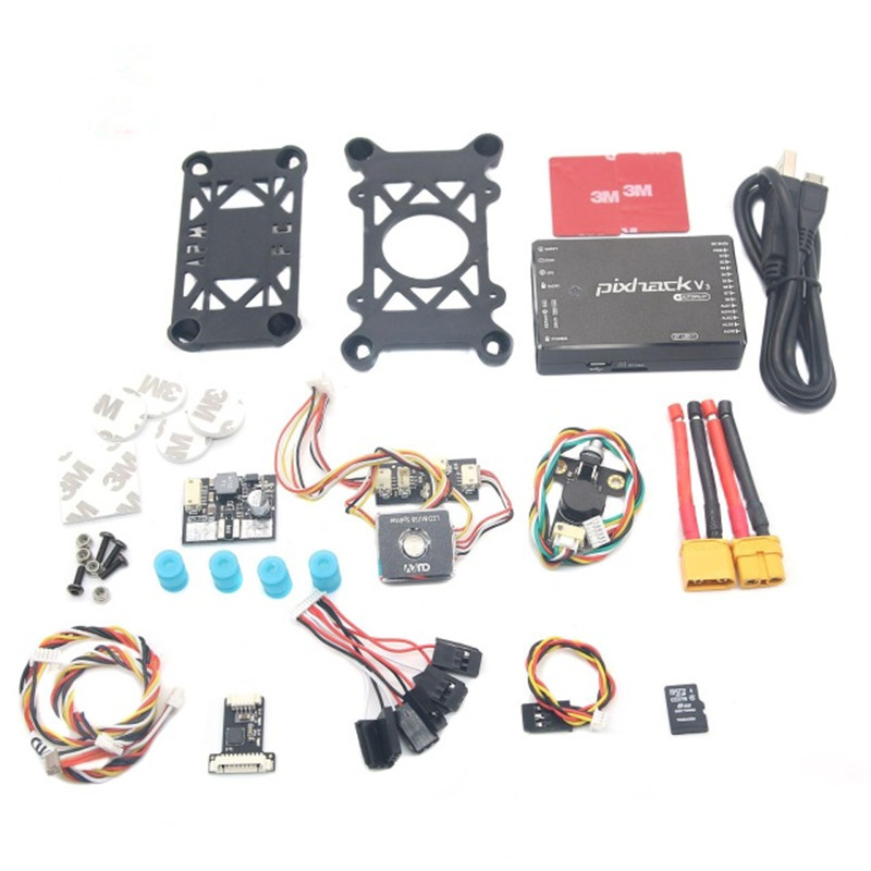 NEW CUAV Pixhack V3 Flight Controller PIX Open Source for FPV Drone Quadcopter Helicopter rc parts flight control board