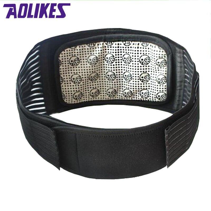 Prix pour Aolikes tourmaline produits auto-échauffement magnétique protecteur taille back support brace ceinture lombaire chaud posture correcteur