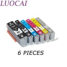 цены LuoCai Ink Cartridges Compatible For Canon PGI-670 CLI-671 670  PIXMA MG5760/MG5765 MG5766 MG6860 MG6865 MG7760 MG7765 Printers