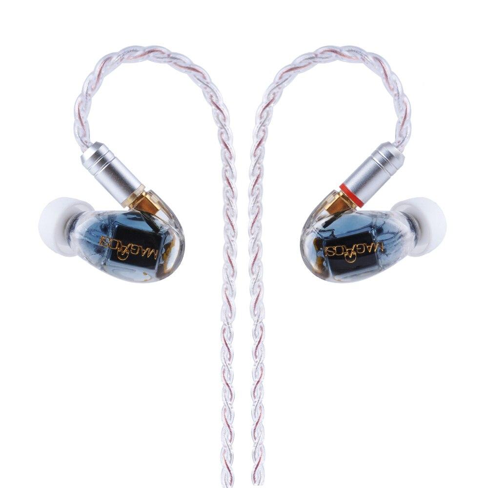 AK Magaosi K3 BA 3 Ausgewogene Anker Hybrid in Ohr HIFI Earphhones mit MMCX Kabel Sport Kopfhörer Headplug DJ Ohrhörer Für xiaomi - 4