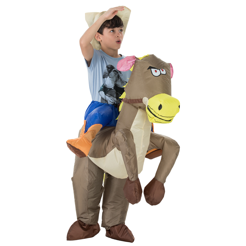 Inflatable green Dinosaur costume sky horse Cowboy Costume for kids animal Halloween Purim party 120cm 140cm-in Anime Costumes from Novelty u0026 Special Use on ...  sc 1 st  AliExpress.com & Inflatable green Dinosaur costume sky horse Cowboy Costume for kids ...