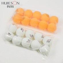 HUIESON 10 шт./пакет 3 звезды для настольного тенниса Ракетки Для шар 40 мм+ 2,9 г шарики для пинг-понга для соревнований, тренировочные мячи