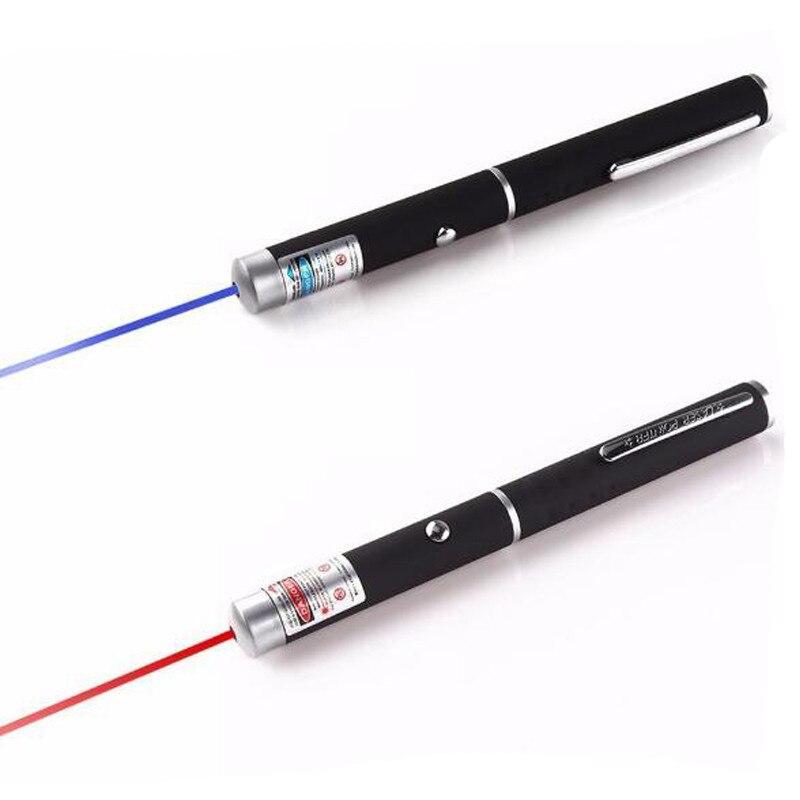 1Pcs 5mW 532nm ปากกาเลเซอร์สีเขียวที่มีประสิทธิภาพเลเซอร์ Presenter ระยะไกล LAZER เลเซอร์ BORE Sighter ไม่มีแบตเตอรี่...