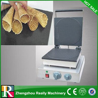 Commercial Use Cast Iron 220v Electric Egg Biscuit Roll Maker Machine Baker|Waffle Makers|Home Appliances -