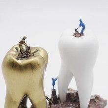 Подарок для дантиста, изделия из смолы, игрушки, зубные артарные зубы, ремесло, стоматология, клиника, украшения, предметы интерьера, креативная скульптура