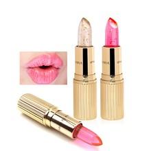 1pcs Women Crystal Lipstick Lip Balm Stick Temperature Change Color Waterproof Moisturizer Lipstick Cosmetic xgrj
