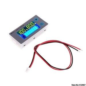 Image 3 - バッテリー容量インジケータ電圧モニタ 10 100V ユニバーサルバッテリ容量電圧計テスター液晶車の鉛酸インジケータ