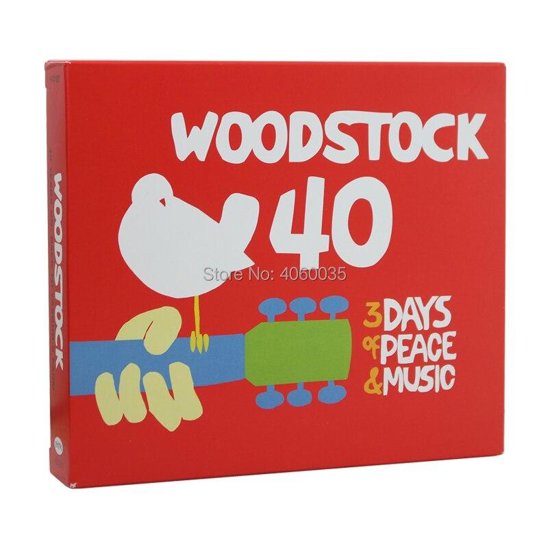 Woodstock 40 Years on Back to Yasgur's Farm 6 discs
