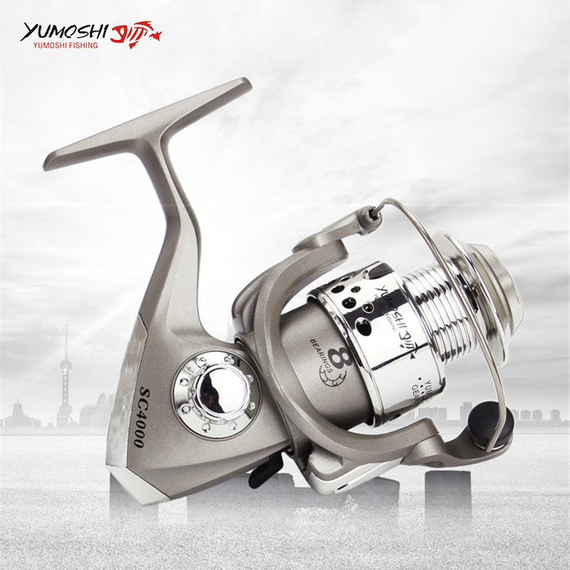 8BB Spinning Fishing Reel Super Light Weight 1000-7000 Fishing Reel - Fishing - Photo 3