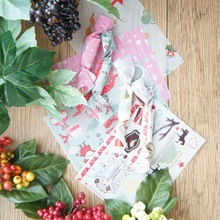 9*12.5cm 100pcs mix style Christmas fudge Wax Paper Candy Chocolate Taffy Wrap For wedding Party Gift Decoration