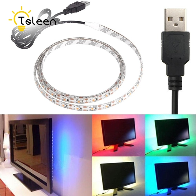 Cheap usb power supply rgb led strip lights home decor smd5050 cheap usb power supply rgb led strip lights home decor smd5050 flexible led strip bar light mozeypictures Image collections