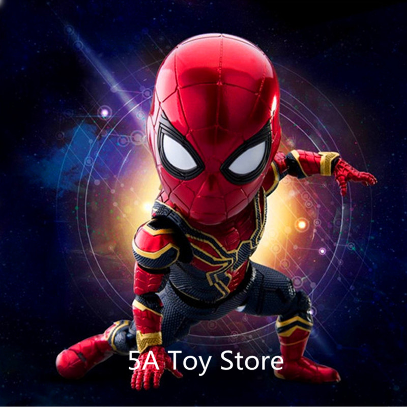 Marvel Figure Avengers 3 Infinity War Super Heroes Iron Spider Man PVC Action Figure Collectible Model Dolls Toy 17CM 10pcs lots mn86471a mn86471 qfp 100% original ic in stock pulled