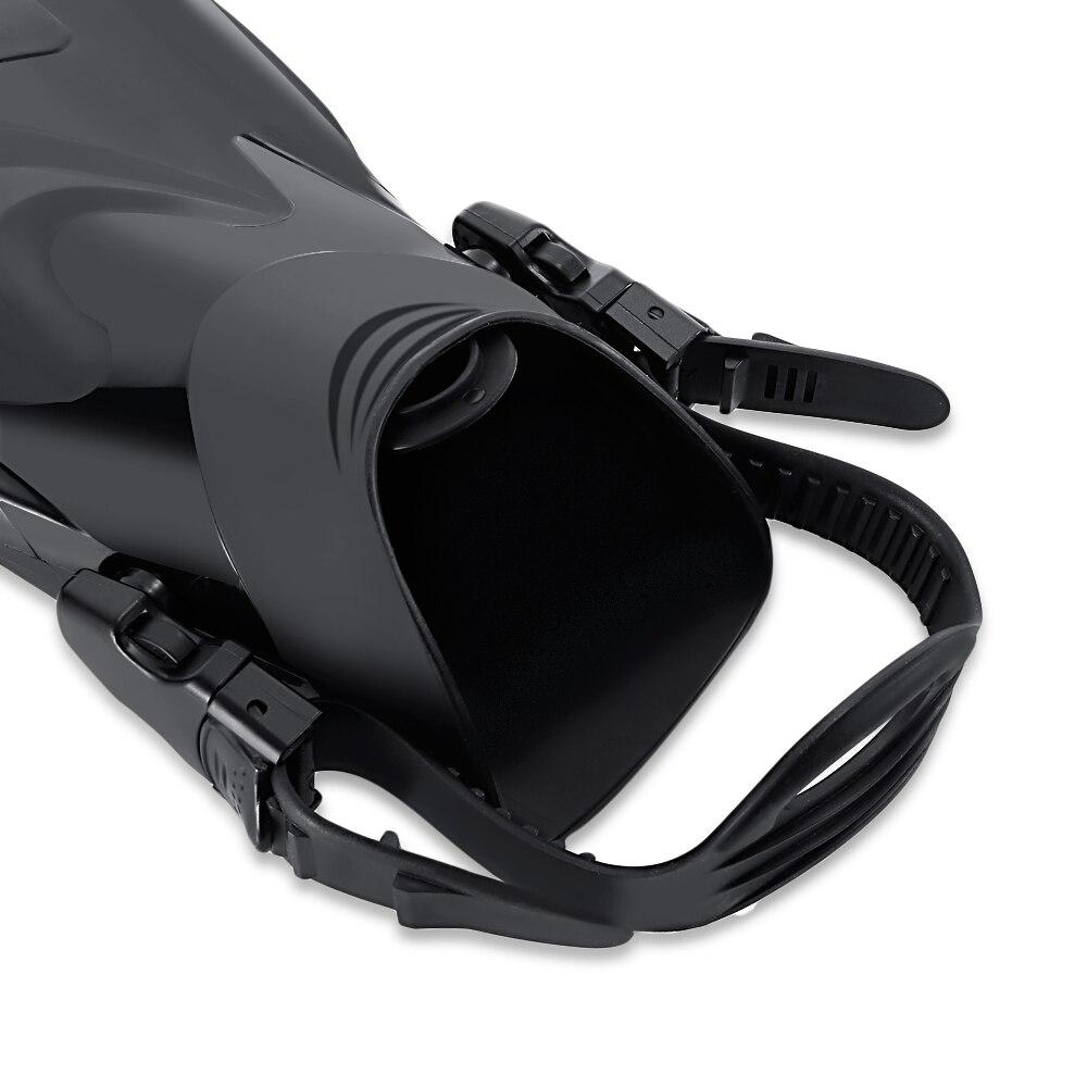 US $31.99 |KEEPDIVING FN 601 Gepaart M L Größe Schnorcheln Flossen Erwachsene Schwimmen Ausbildung Einstellbare Taucherflossen 2017 Neue Ankunft in
