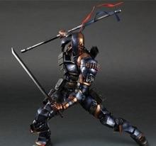 Deathstroke Figure Square Enix Play Arts Kai Variant Deadpool PVC DC Action Figure Terminator Slade Joseph Wilson 27cm Toys