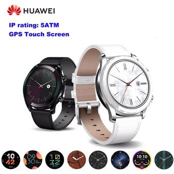 HUAWEI GT Smart Watch GPS HD Screen Bluetooth Outdoor Sport Watch With NFC Passometer Heart Rate Monitor Smartwatch Men Watch