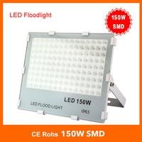 NEW 10W 20W 30W 50W 100W 150W LED Flood Light SMD Outdoor lamp waterproof flood lights 85 265V IP66 100LM/W Free shipping