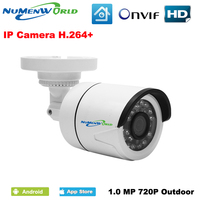 Numenworld IPC 1 4 H62 XM510 Sensor HD 720P IP Camera ONVIF P2P Motion Detection RTSP