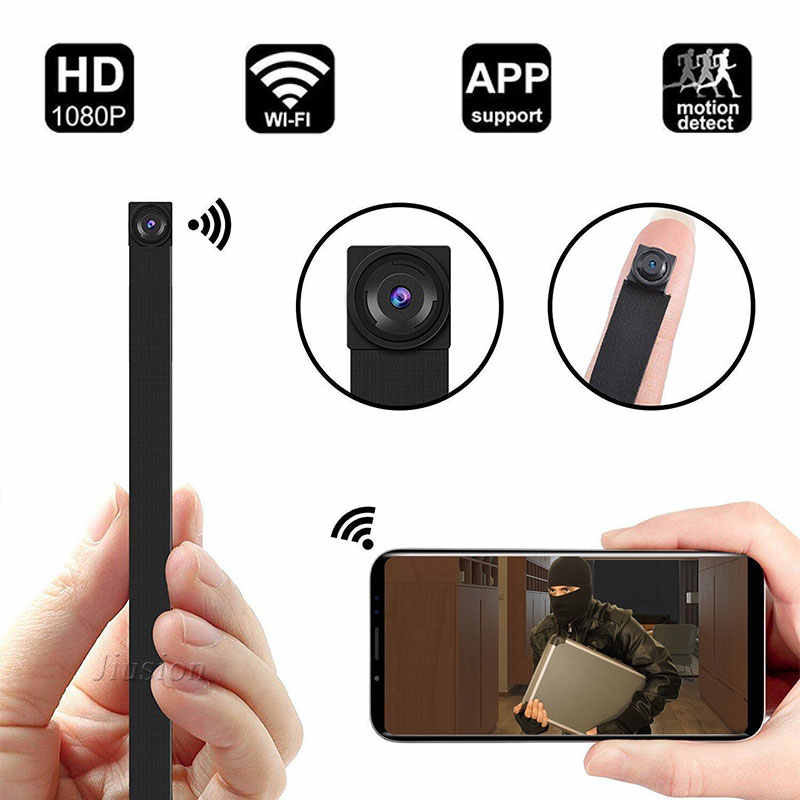 Wifi IP Mini Camera Wireless Espia Gizli Kamera Espion Micro Cam Secret Action Telecamera Body Video Recorder Camcorder