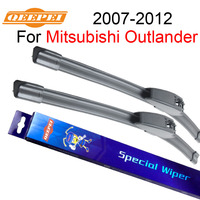 QEEPEI Wiper Blades For Mitsubishi Outlander 2007 2012 24 21 High Quality Iso9001 Natural Rubber Clean