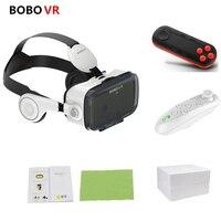 BOBOVR Z4 3D Helmet Leather Cardboard VR Glasses Virtual Reality VR Glasses Stereo Headset Bobo Vr Box For 4 6.2 inch Phone