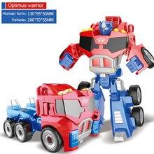 купить Alloy Robot Transformation Car Toys Alloy Deformation P Olice Robot Bus Toy For Kids Children Birthday Christmas Gift по цене 517.79 рублей