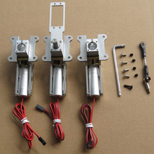 RC Metal Electric Retractable Landing Gear 12kg to 17kg For Fixed-wing Aircraft Air Plane