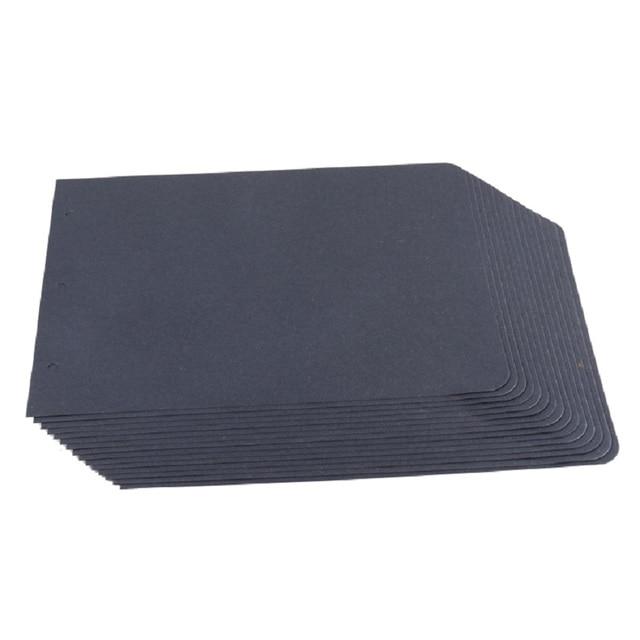 15 Pieces Black Scrapbook Paper For Scrapbook Album Refill Pages