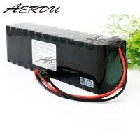 Aerdu 17S2P 60 V 7Ah 1200 Вт литий ионный Батарея пакет для NCR18650GA 71,4 V E электровелосипед скутер с 20A разряда BMS