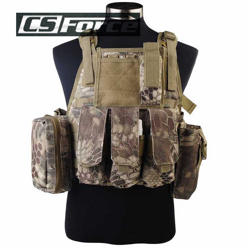 ФОТО Tactical USMC MOLLE Assault Vest Tactical Combat Vest Outdoor High Quality Products Seal Camouflage Amphibious Military Vest