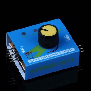 Servo-Tester Checker Controler Master Ccpm-Meter Consistency-Speed Power-Channels 3CH