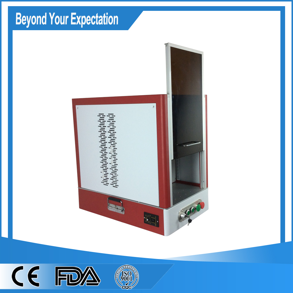 20W Fiber Laser for Keyboard,Jewelry,Business Cards,Dog Tags ...