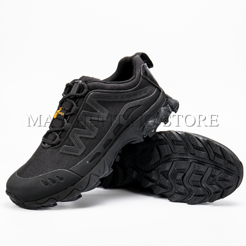 ФОТО New Black Tactical Boots High Quality Ankle Desert Boots Outdoor Camping Hunting Shoes