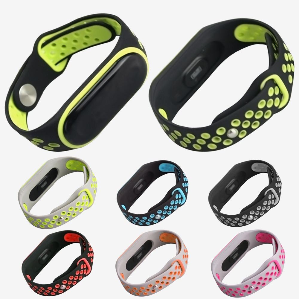 Pulsera Correa For Miband4 Silicone Wrist Strap For Xiaomi Mi Band 4 3 Bracelet Wristband Watchband Accessories For Xiao Mi 4 3