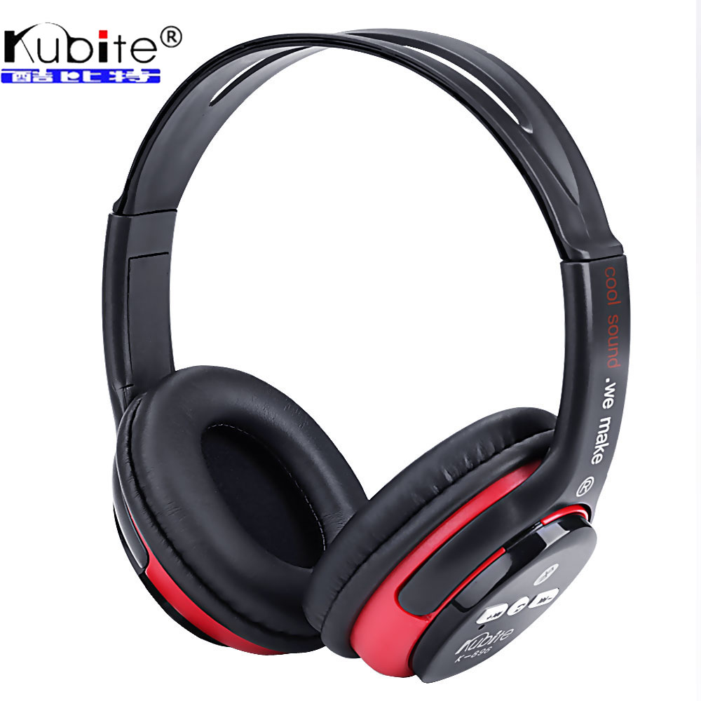 original kubite k 896 wireless bluetooth headphone handsfree stereo headset with mic for smart. Black Bedroom Furniture Sets. Home Design Ideas