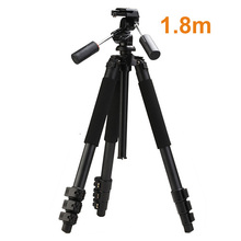 High Quality Professional 1.8m Aluminum MBL-620 Photo Video Tripod with 3-way Pan Head Heavy Duty Tripod Digital Camera Tripod