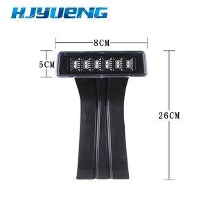 Image 4 - HJYUENG 15W siyah 6 LED arka kuyruk 3rd Led fren işığı üçüncü fren lambası kırmızı Jeep Wrangler JK için spor rakım sınırsız